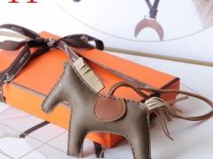 H家新版小马鬃毛系列 中号小号颜色齐全全手缝 大象灰